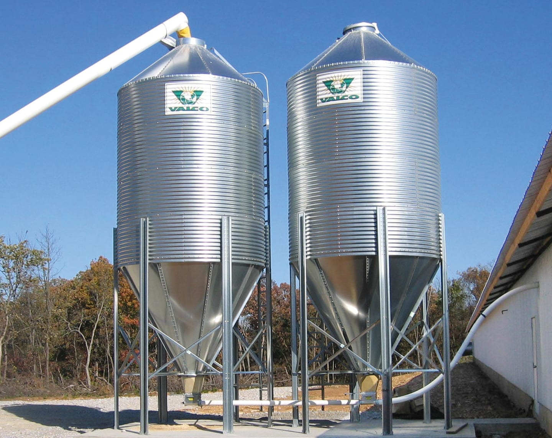 Bulk Feed Storage Bins - VAL-CO Bulk Feed Bin Storage