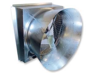 galvanized fans